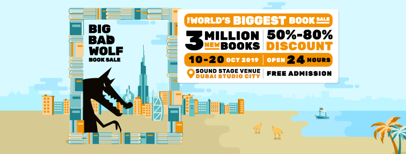 The world's biggest book sale!