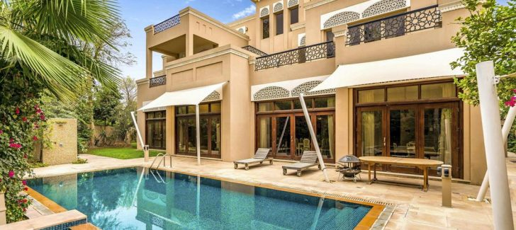 Dubai pool villa