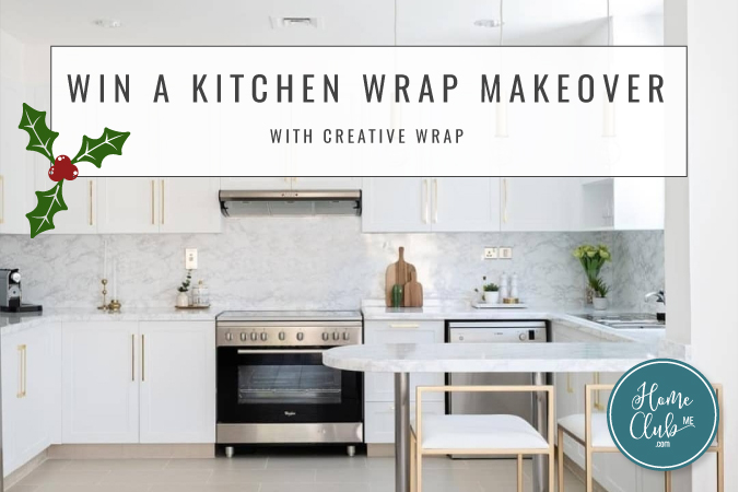Win a Kitchen Wrap Makeover with Creative Wrap and Home Club ME