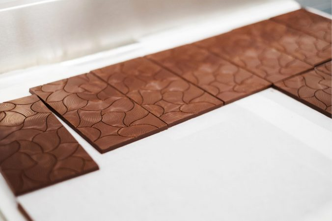 A close up of a cutting board